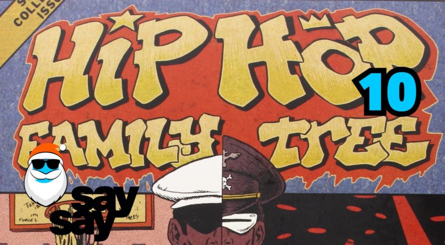 say say soulful hip-hop radio hip-hop family tree comic cover ed piskor 1388 x 1053