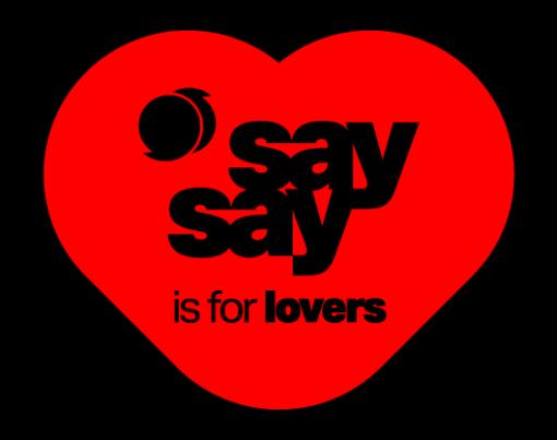 Valentinstagslogo von say say – soulful hip-hop radio
