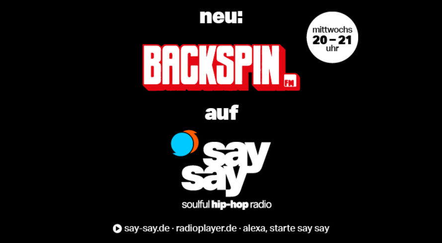 BACKSPIN FM neu auf say say soulful hip-hop radio