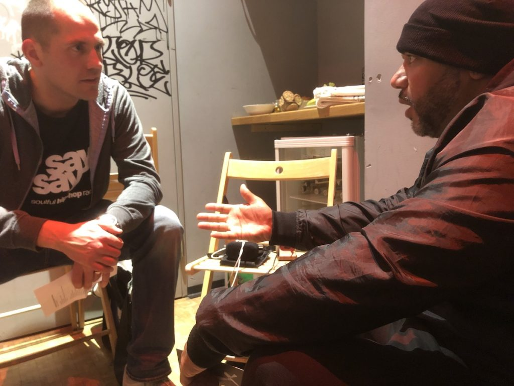 Apollo Brown say say soulful hiphop radio Interview 1