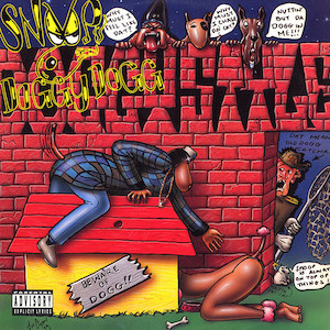 """Cover des Albums """"Doggystyle"""" von Snoop Doggy Dogg"""