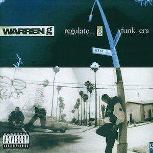 """Cover des Albums """"Regulate... G Funk Era"""" von Warren G"""