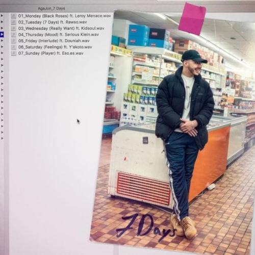 """Cover des Albums """"7 Days"""" von AgaJon"""
