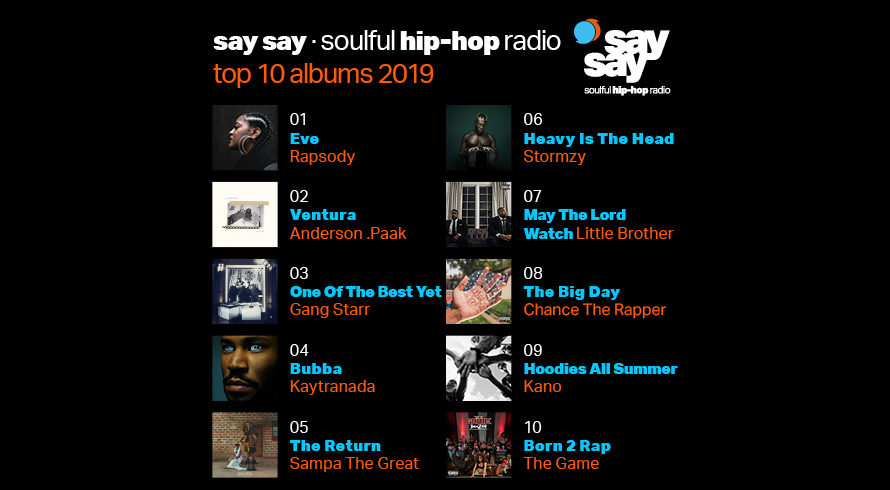 say say soulful hip-hop radio best hip-hop 2019