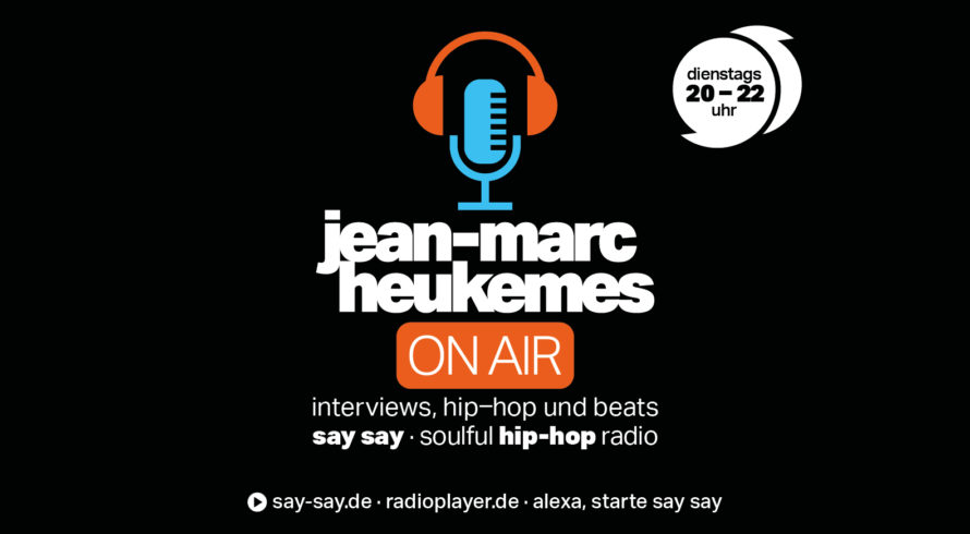 Jean-Marc Heukemes on Air Logo say say soulful hip-hop radio
