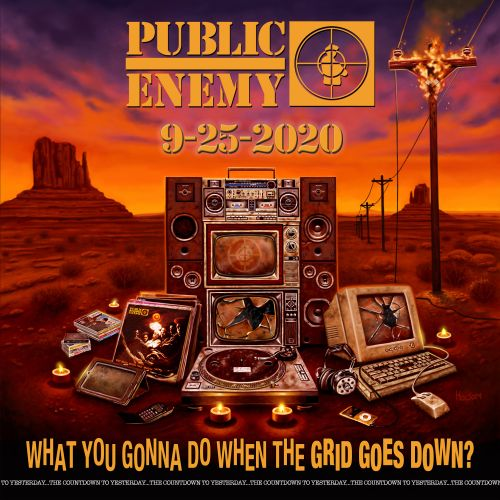 Public Enemy - What You Gonna Do When The Grid Goes Down Cover say say soulful hip-hop radio