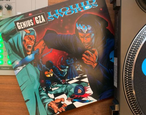 GZA - Liquid Swords Cover - Beitragsbild