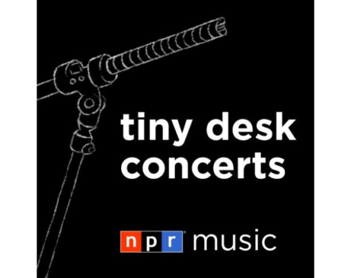 NPR Music Tiny Desk Concerts - Logo