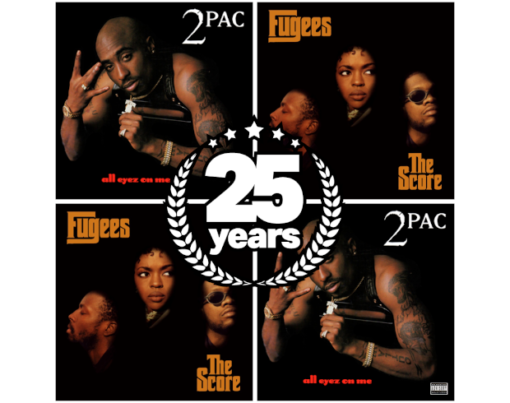 2Pac All Eyez On Me - Fugees The Score - 25 Years - say say soulful hip-hop radio