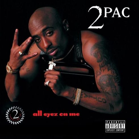2Pac - All Eyez On Me Cover