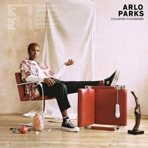 Arlo Parks - Collapsed in Sunbeams - Cover