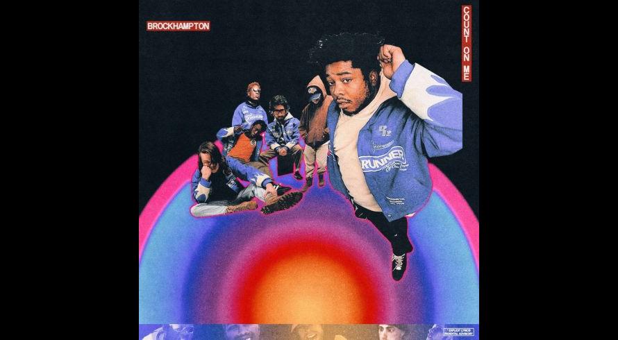 BROCKHAMPTON - COUNT ON ME - Cover