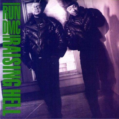 Run DMC - Raising Hell - Cover