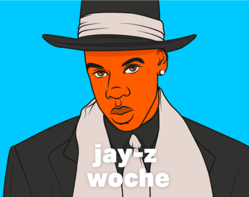 Jay-Z Woche - Reasonable Doubt 25 Jubiläum - Illustration Henrike Ott