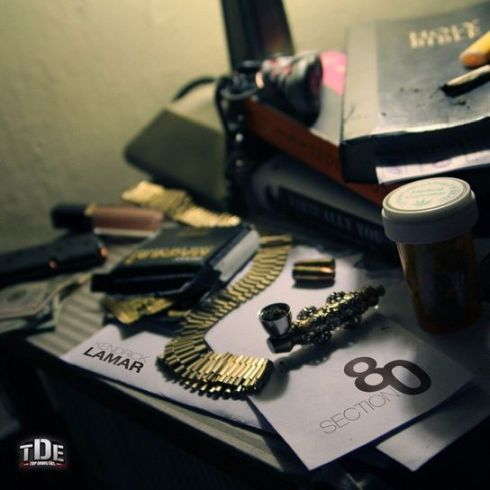 Kendrick Lamar - Section.80 - Cover