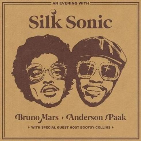 Silk Sonic - An Evening With Silk Sonic - Cover