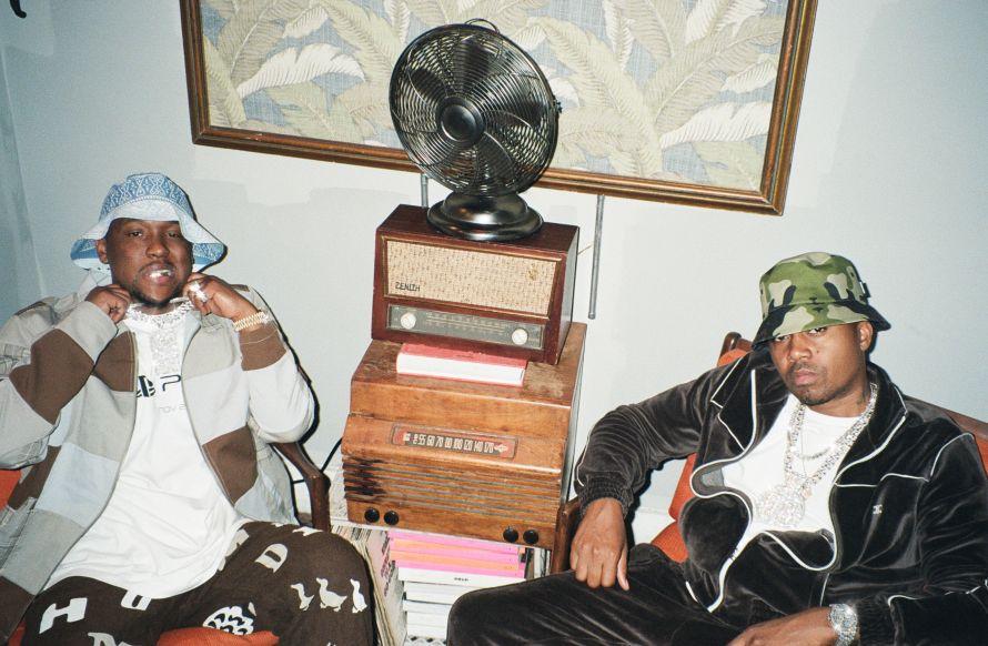 Nas & Hit-Boy - Pressefoto 2021 by Raven B. Varona